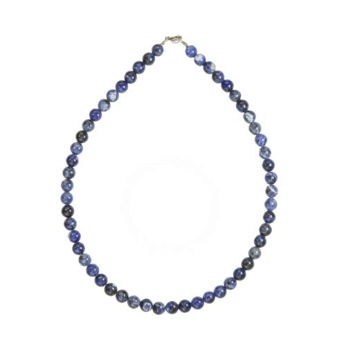 Sodalite Necklace - 8 mm Bead