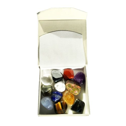 Gift Set of 12 Tumbled Stones