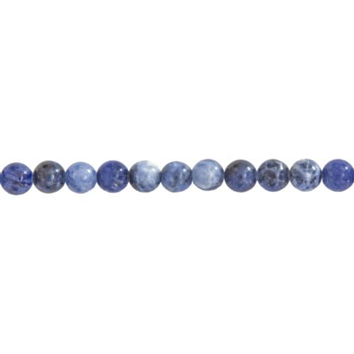 Sodalite Line - 6 mm Bead