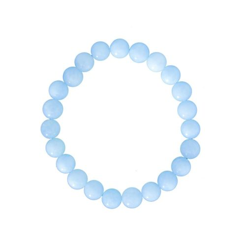 Aquamarine Bracelet - 8 mm Bead