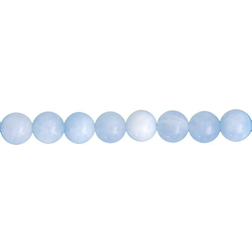 Aquamarine Line - 12 mm Bead