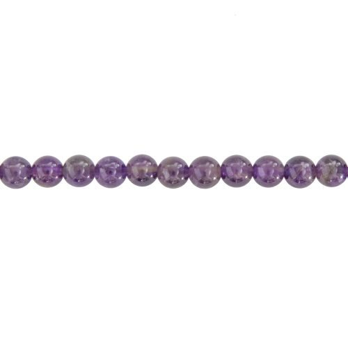 Amethyst Line - 6 mm Bead