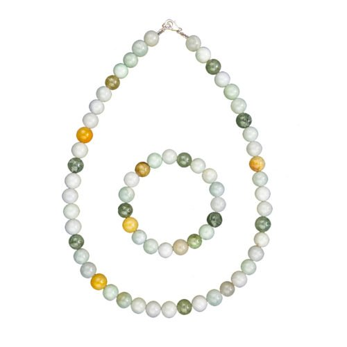 Green Jade Gift Set - 10 mm Bead