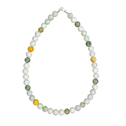 Burmese Jade Necklace - 10 mm Bead