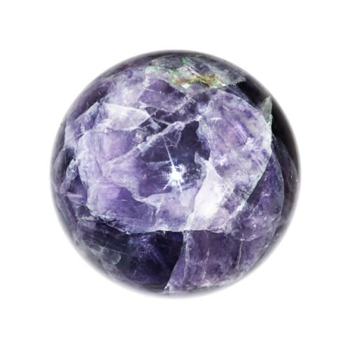 sphere fluorite multicolore