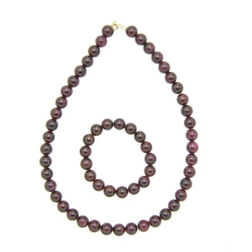 Red Garnet Gift Set - 10 mm Bead