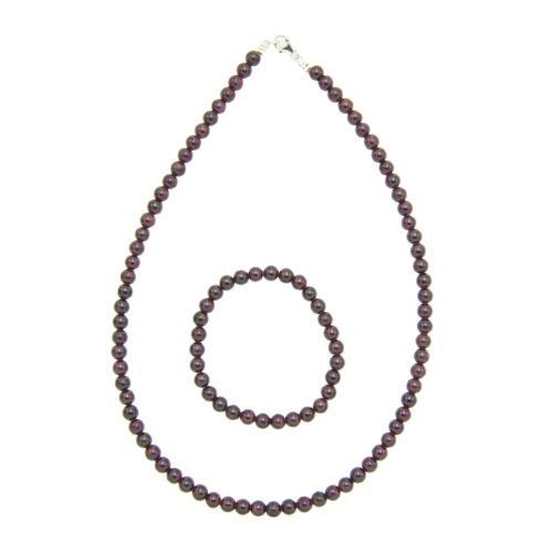 Red Garnet Gift Set - 6 mm Bead