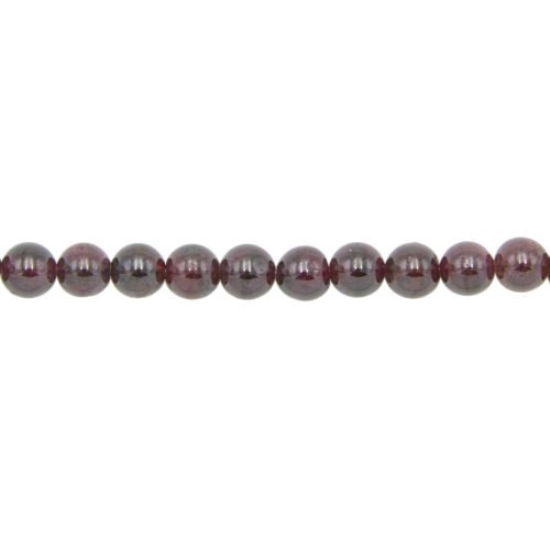 Red Garnet Line - 8 mm Bead