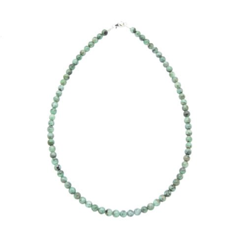 Emerald Necklace - 6 mm Bead