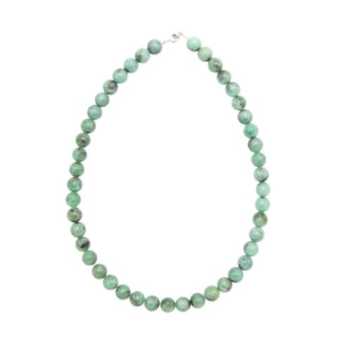 Emerald Necklace - 10 mm Bead