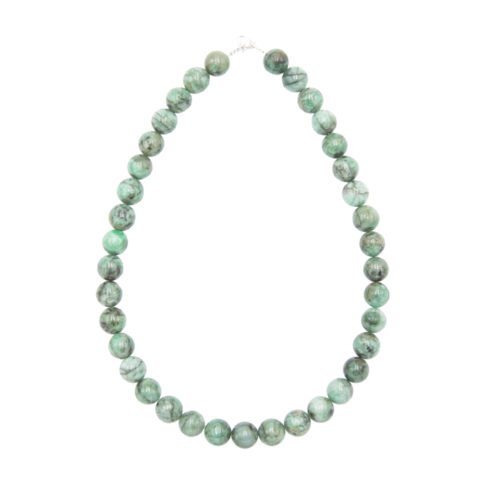 Emerald Necklace - 12 mm Bead