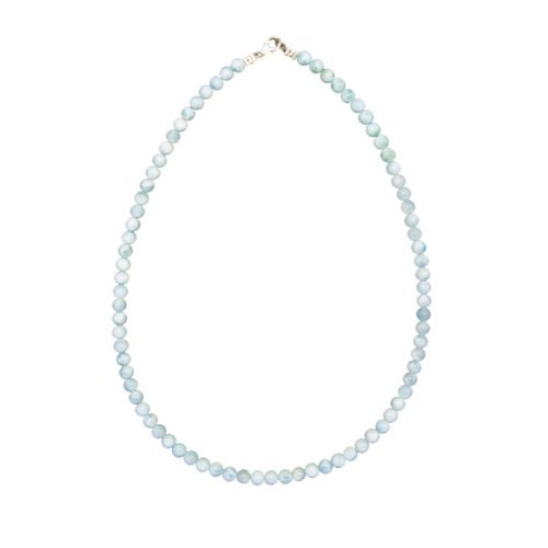 Larimar Necklace - 6 mm Bead