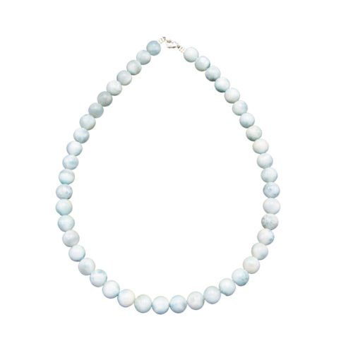 Larimar Necklace - 10 mm Bead