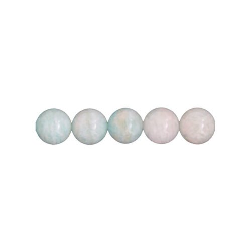 fil amazonite pierres boules 6mm