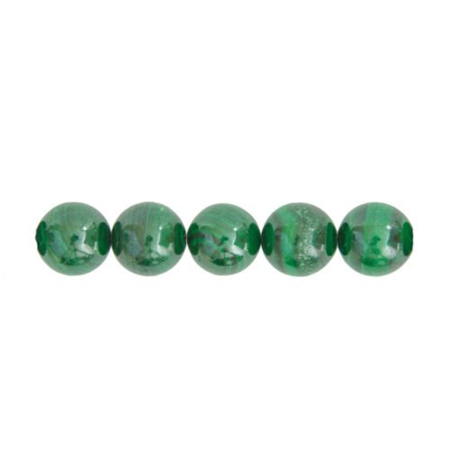 perle malachite 10mm