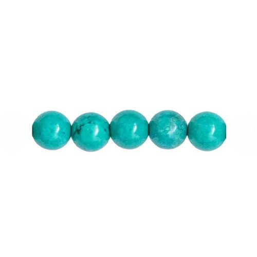 perle turquoise 10mm
