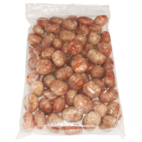 1kg bag of Heliolite tumbled stones